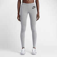 The Nike Leg-A-See Solid Logo Women's Tights.