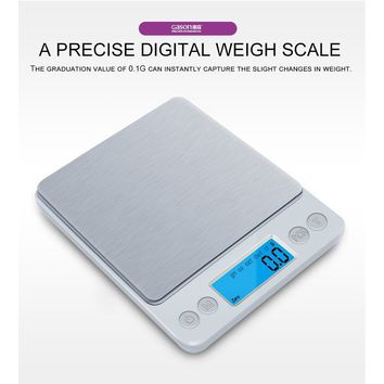 Mini pocket portable stainless steel weight scale