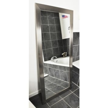 Top Product Reviews for American Made Rayne Silver Floor/ Vanity Mirror - Overstock.com - Mobile