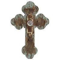 Rustic Cross Wall Decor