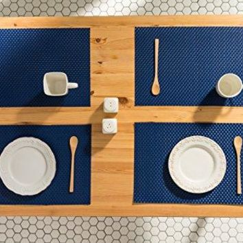 Navy Woven Table Placemats