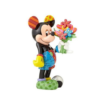 Mickey Mouse with Flowers by Britto