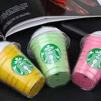 Starbucks power bank 5200mAh portable charger For iphone 5,6 plus