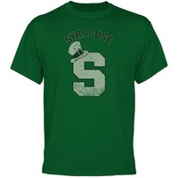 Syracuse Orange Irish Style St. Patrick's Day T-Shirt - Green