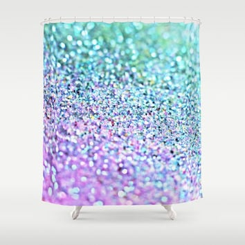 Little Mermaid Shower Curtain by Monika Strigel