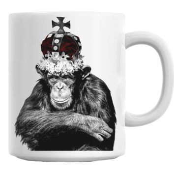 King Casey Monkey Mug