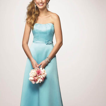 Alfred Angelo 7169 Pool Size 8 Satin Bridesmaid dress