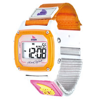 Freestyle FS84860 Women's Shark Clip White Digital Dial Canvas Strap Chronograph Alarm Watch