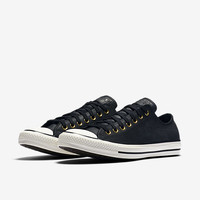 The Converse Chuck Taylor All Star Leather Low Top Unisex Shoe.