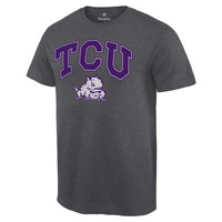 TCU Horned Frogs Fanatics Branded Campus T-Shirt - Charcoal