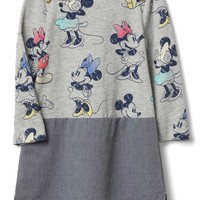 babyGap | Disney Baby Minnie Mouse chambray dress | Gap