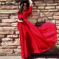 *online exclusive* bohemian maxi dress