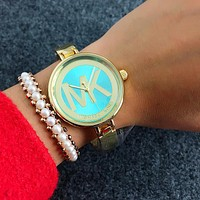 MK Michael Kors Fashion Women Movement Simple Watch Wristwatch B-Fushida-8899
