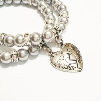 Mother Daughter Bracelets Jewelry Matching M