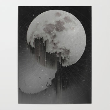 Sacred Moon Poster by duckyb