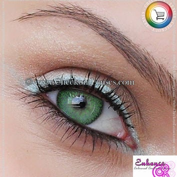 Enhance Glacier Green Contact Lenses