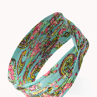 Paisley Power Knotted Headwrap
