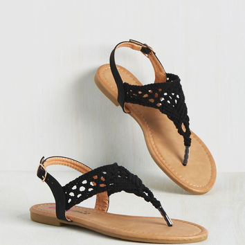Knot as I Do Sandal | Mod Retro Vintage Sandals | ModCloth.com