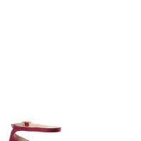 Chinese Laundry Outlast Floral and Burgundy D'Orsay Flats