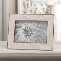 Mother of Pearl Mosaic Photo Frame 4 x 6