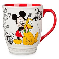 Disney Mickey & Pluto Classics Collection Ceramic Coffee Mug