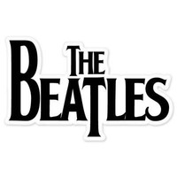 The Beatles Vynil Car Sticker Decal