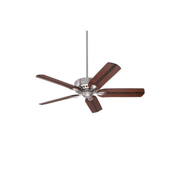 Emerson Fans BKIT-CF921BS-B105HCB Avant Eco Brushed Steel Energy Star EcoMotor 54-Inch Ceiling Fan with Beaded Hand Carved Wood Blades