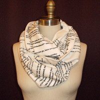 Les Miserables Book Scarf-