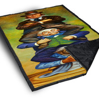iOffer: Haunted Mansion Quick Sand on Blankets for sale