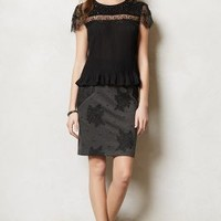 Ginevra Beaded Top by Vineet Bahl Black L Tops