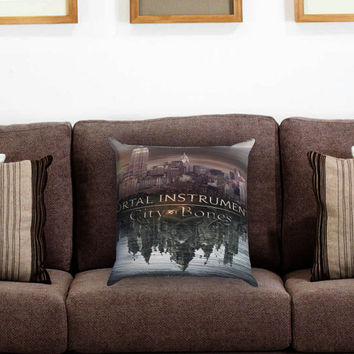 The Mortal Instruments City of Bones Pillow Cover , Custom Zippered Pillow Case One Side Two Sides