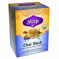 Herbal Tea Supplement, Chai Black