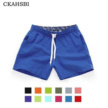 CKAHSBI Pocket Quick Dry Swimming Shorts For Men Swimwear Man Swimsuit Swim Trunks Summer Bathing Beach Wear Surf Boxer Briefs