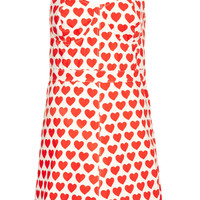 MOTO Heart Fitted Dress - New In This Week - New In - Topshop USA