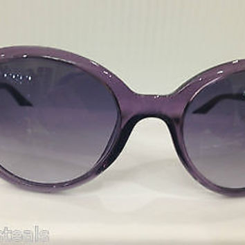 NEW AUTHENTIC GIORGIO ARMANI GA 853/S COL O3SDG PURPLE PLASTIC SUNGLASSES