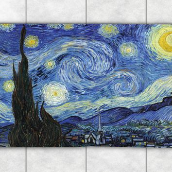 Vincent Van Gogh's Starry Night Accent Rug