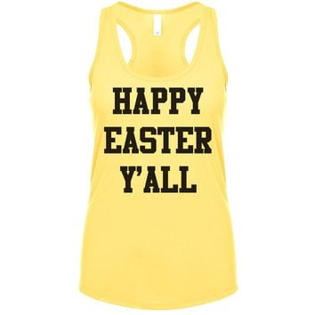 Happy Easter Y'all Women's Tank
