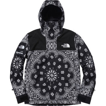Supreme/The North Face® Bandana Mountain Parka - Black