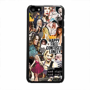 taylor swift happy iphone 5c 4 4s 5 5s 6 6s plus cases