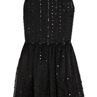 RED Valentino Embellished silk-organza dress – 64% at THE OUTNET.COM