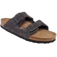 Birkenstock Arizona Velvet Suede Soft Footbed Sandals | macys.com