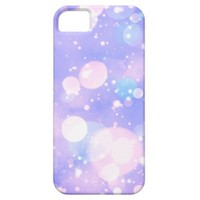 Cute Purple Bokeh Pattern iPhone 5 Case / iPhone 5s Case