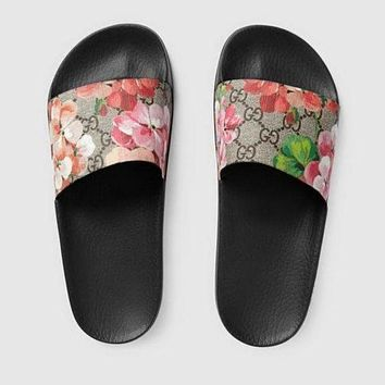 Gucci Casual Fashion Women Sandal Slipper Shoes I