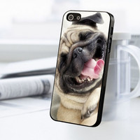 Smile Pug Dog iPhone 5C Case