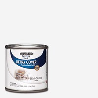 Rust-Oleum Painter's Touch 32 oz. Ultra Cover Flat White General Purpose Paint-1990502 - The Home Depot