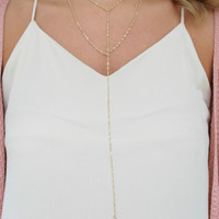 Hot Date Necklace - Gold