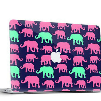 Elephant Parade Skin Decal for Macbook Air & Mac Pro - Special One of a Kind Gift