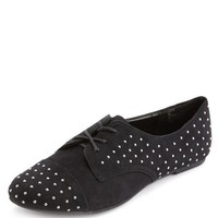 STUDDED LACE-UP OXFORD