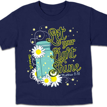 Lightning Bug T-shirt (navy)