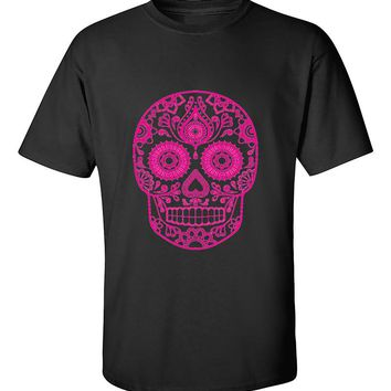 Sugar Skull Pink Cute T-Shirt